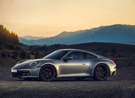 MM107 Porsche Coal Black Matte